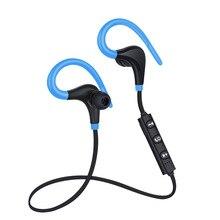 ホット販売格安のbluetooth 4.1ワイヤレスステレオイヤホンイヤフォンスポーツジムヘッドセット耳フックヘッドセット