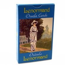 Lenormand Oracle Cards English Version Tarots 44-Card Deck Divination Fate Board Game Family Party