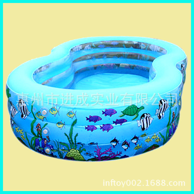 Dongguan Manufacturers Production PVC Inflatable Children Bathing Pool Large Size Medium Small Swimming Pool Wholesale
