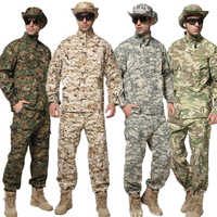 10Color New Men Militar Uniform Army Tactical Military Soldier Outdoor Combat ACU Camouflage Special Clothes Pant Maxi XS~2XL