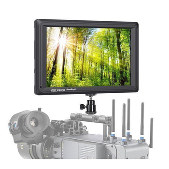 Feelworld FW279S 7'' IPS 2200nit Daylight Viewable 3G-SDI HDMI Full HD 1920x1200Feild Camera Monitor with False Color Function