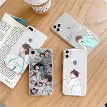 Anime Haikyuu Oikawa funda housse de téléphone Transparent doux pour iphone 5 5s 5c se 6 6s 7 8 11 12 plus mini x xs xr pro max