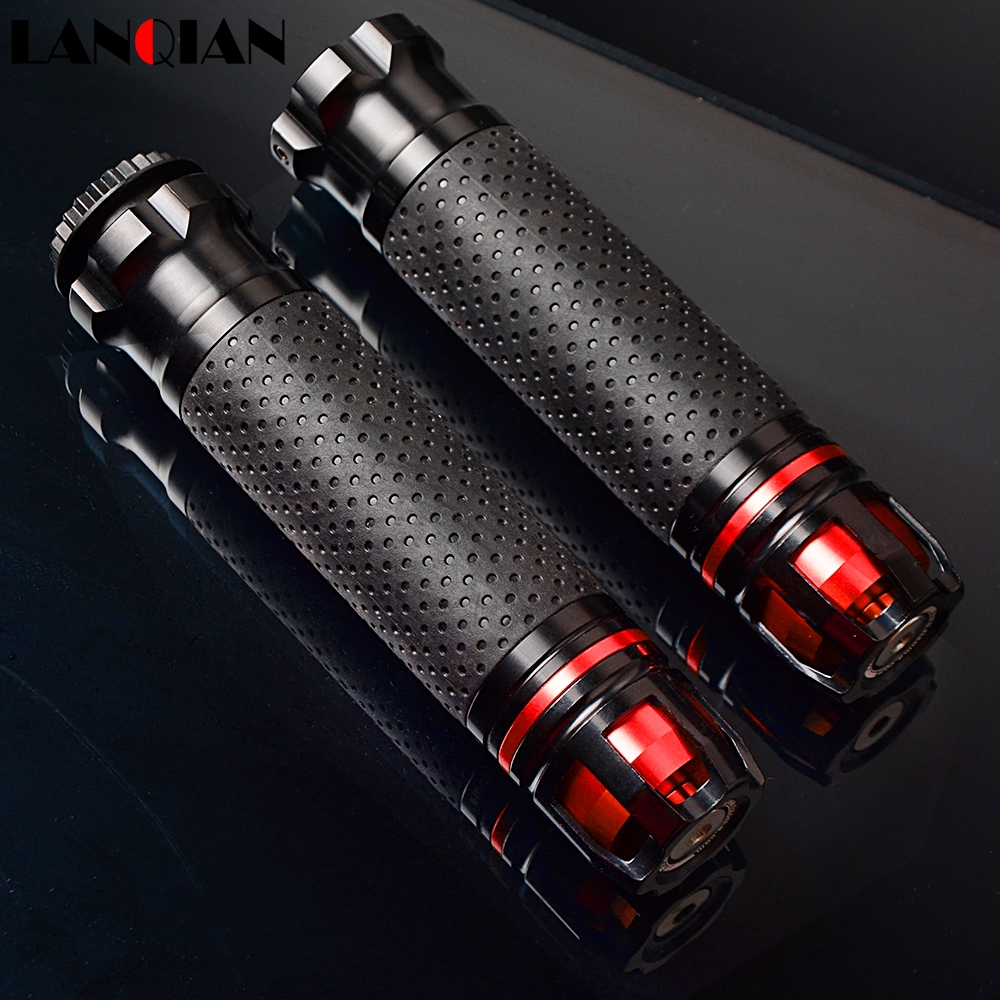 Universal Motocross CNC 22 25 28MM Motorcycle Handle Bar Caps Handlebar Grips For BUELL 1125CR 1125R M2 Cyclone X1 S1 Lightning