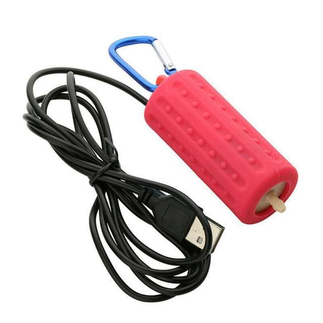 1PC Oxygen Air Pump Aquarium Fish Tank Portable USB Mini Aquatic Terrarium Mute Energy Saving Supplies Aeration Fish Home 6