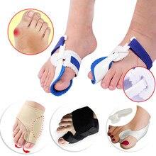 Corretor ortopédico de joanetes hálux valgo, ferramentas de pedicure, silicone para cuidados com os pés, protetor do dedo do pé, espalhador