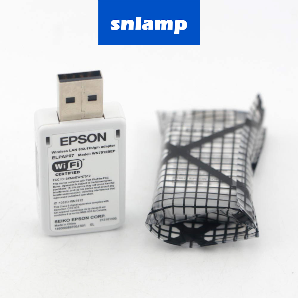 Projectors Wireless Adapter ELPAP07 V12H418P12 WN7512BEP For EPSON WIRELESS WIFI USB LAN ADAPTER 802.11B/G/N F/S Fit To Projecto