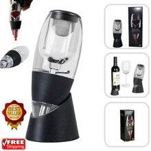 Аэраторный Графин для вина фильтр+ красно-Белое Вино ароматизатор и подставка