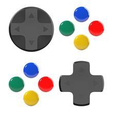 Đầu Lâu & Co. JoyCon Nút Nắp Bộ D Miếng Lót DPAD Cho Nintendo Switch Joy Con Bộ Điều Khiển