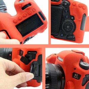 Image 5 - CAENBOO Dành Cho Canon EOS 6D Mark II Túi Cao Su Silicone Mềm Bảo Vệ Thân Thể Cover ốp Lưng Bao Da Cho Canon EOS 6D Mark2 Túi