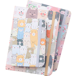 A5 A6 A7 mini notebook trumpet portable cute carry small notepad school office supply memo sheets kawaii cartoon style notebook