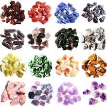 1 Bag A 30g 50g Natural Crystal Rough Rock Stone Scientific Research Mineral Specimen Colorful Quartz