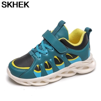 SKHEK Winter Kids Sport Shoes For Girls Sneakers Shoes Boys Fashion Comfortable Casual Kids Shoes For Girl Children Shoes недорого