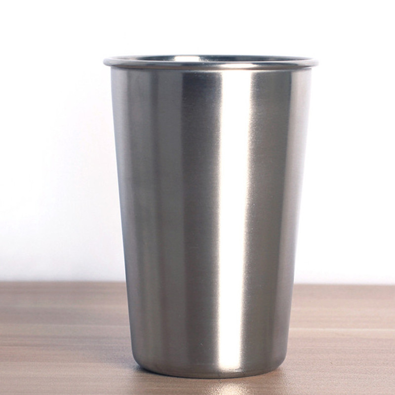 Cup Tumblers Kitchen Stainless-Steel Coffee/water-Wine-Cups Drinkware Dining-Bar TSLM2 title=