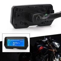 12000RPM LCD Odometer Accessories Backlight Waterproof ABS Refit Motorcycle Easy Install Sensor 6 Gear Digital Speedometer
