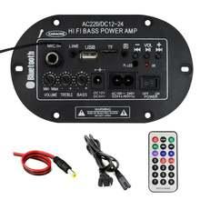 Bluetooth 30 Вт усилитель мощности usb dac fm радио tf плеер