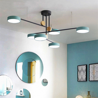 Modern Led Pendant Light Lighting Luxury Pendant Lamp Rotate Bedroom Dining Living Room Hanging Lamps Kitchen Fixtures Luminaire
