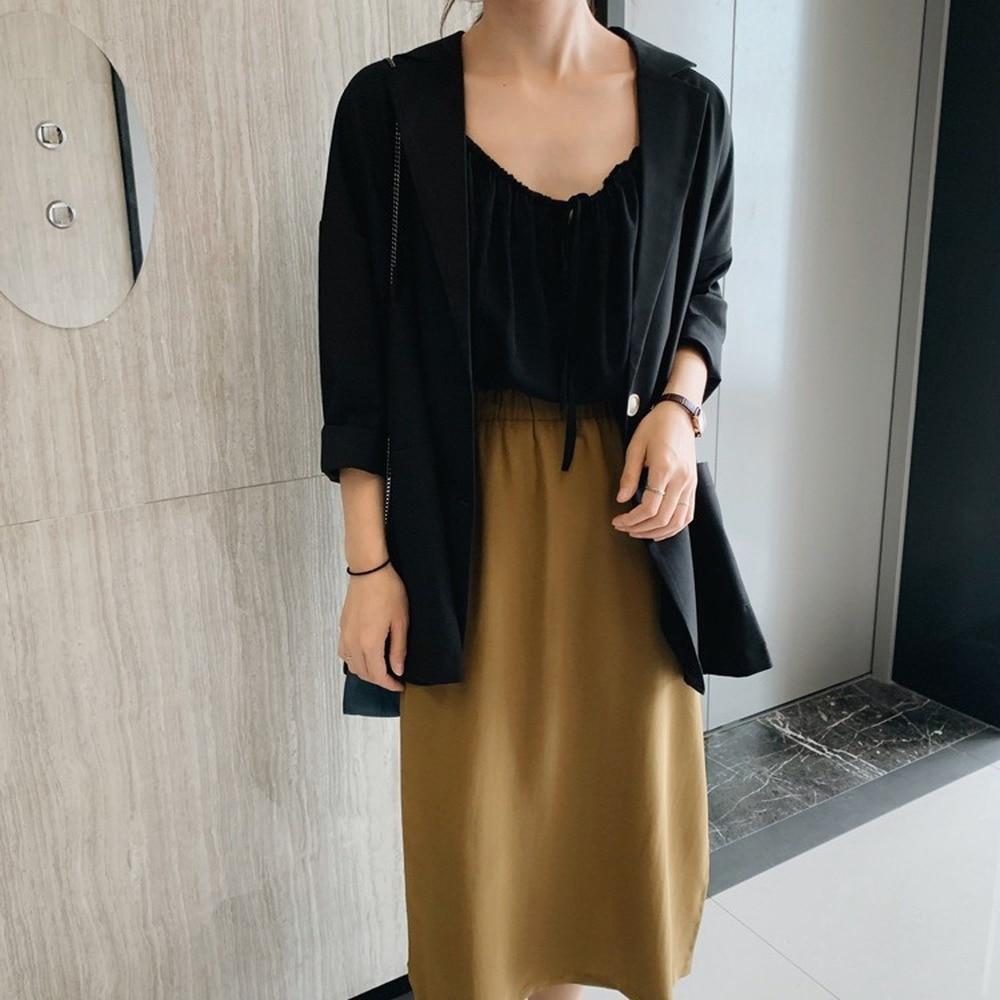 women jacket  blazer Spring 2020 new long sleeve sunscreen suit coat womens blazer casual long  Office Lady