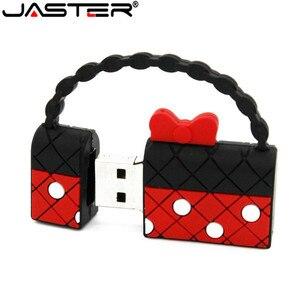 Image 4 - JASTER mini torebka pamięć USB torebka pendrive 4GB 8GB 16GB 32GB 64GB U dysk USB 2.0 pen drive śliczne torby pendrive prezenty