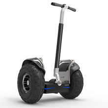 цена ESWING off-road 2 wheel stand up self balance big wheel electric chariot scooter 2400W онлайн в 2017 году