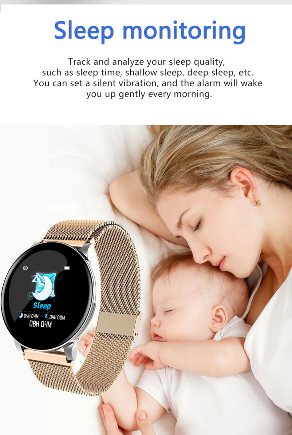 H177f5f30155547ae88a0091919d6837ep BINSSAW Couples Smart Watch Kid Heart Rate Blood Pressure Dynamic Fitness Tracker Wearable Electronics Devices Smart Sport Watch