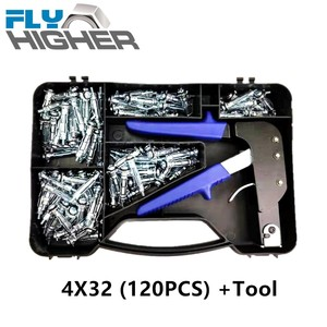 Hollow Wall Anchor Metal Cavity Plasterboard Fixing with tool box