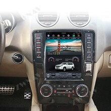 Android вертикальный Tesla Автомобильный мультимедийный плеер gps для Mercedes Benz ML W164 W300 ML350 ML450 ML500 GL X164 G320 GL350 GL450 GL500