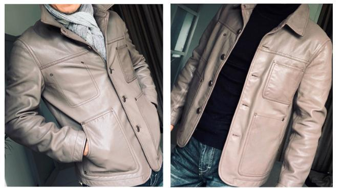 Free Shipping,Brand New Cowhide Coat,man's 100% Genuine Jackets,fashion Leather Jacket.casual Clothing.sales US Style