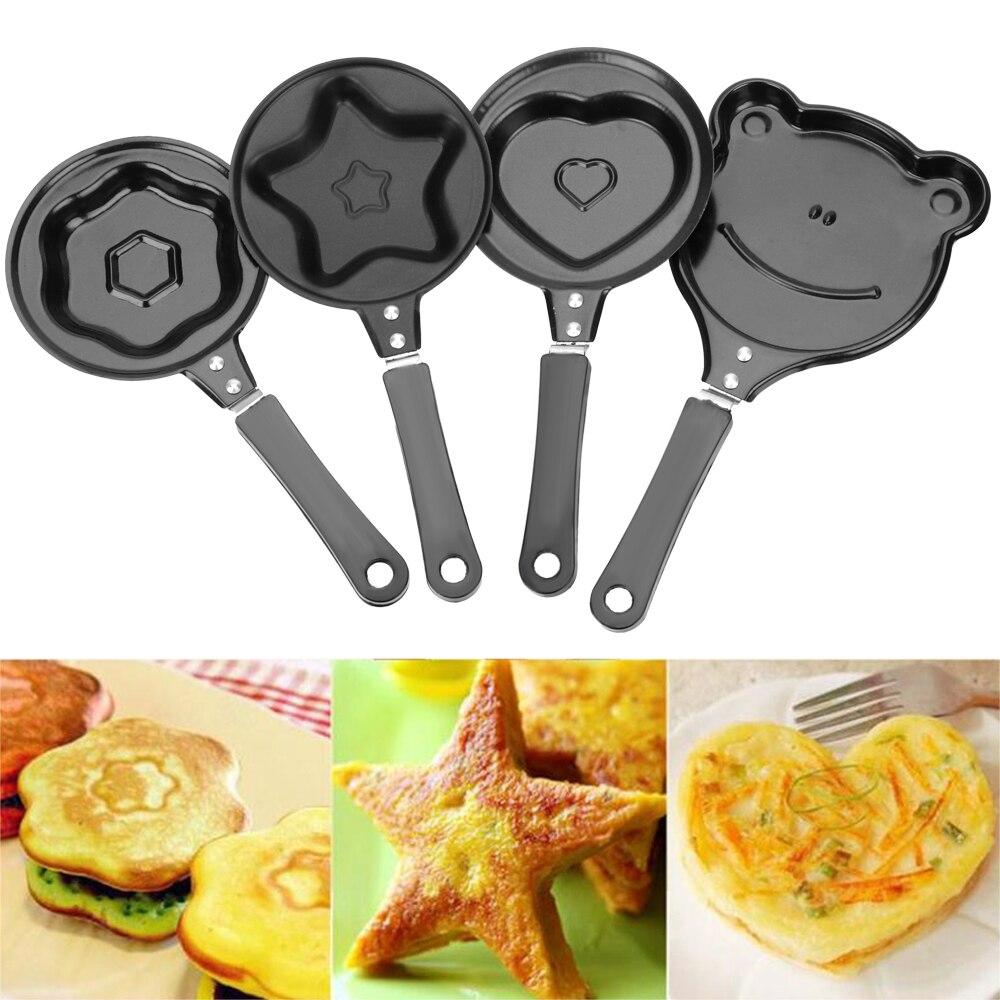 Форма для яиц сковорода флип форма для омлета антипригарная сковородка для блинов производитель кухонных принадлежностей Мини-Сковорода д...