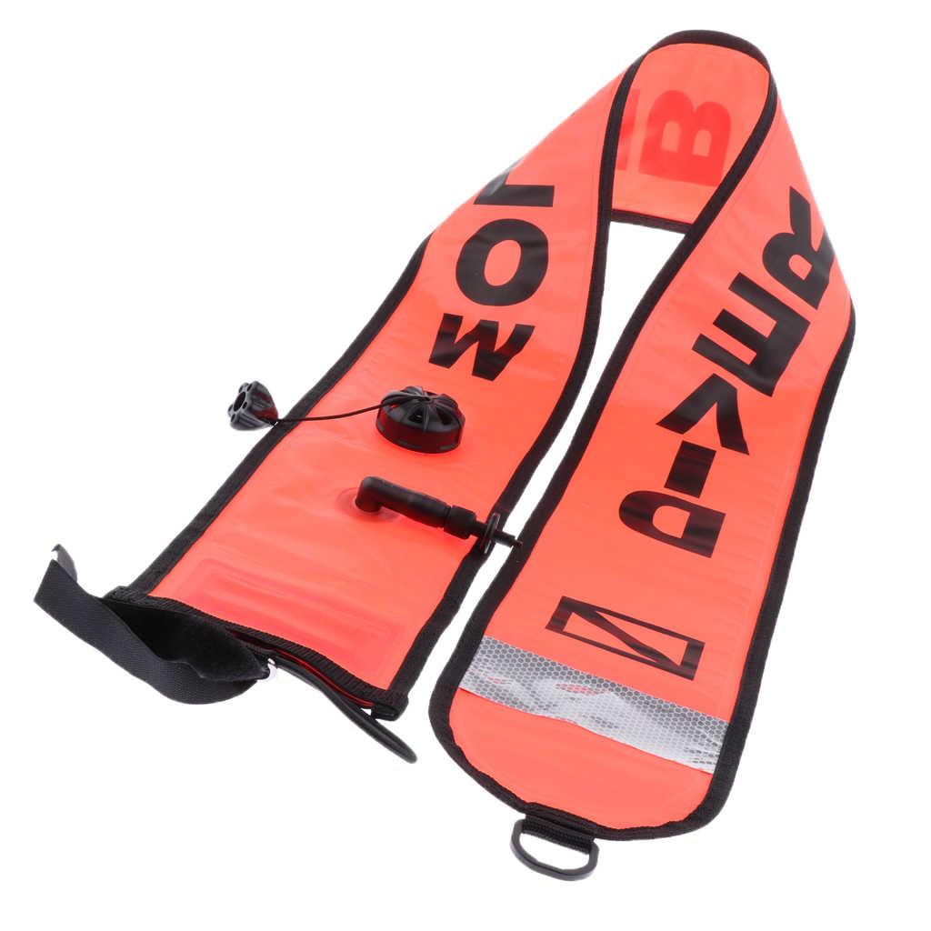 150 Cm Duiken Opblaasbare Veiligheid Buis Diver Hieronder Signaal Marker Boei