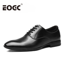 Genuine leather Men shoes handmade Leather Dress Shoes Business Formal Men Office Oxford Shoes For Men flats Plus Size 48 goodyear handmade shoes men s formal wear business shoes leather men s shoes leather was settled