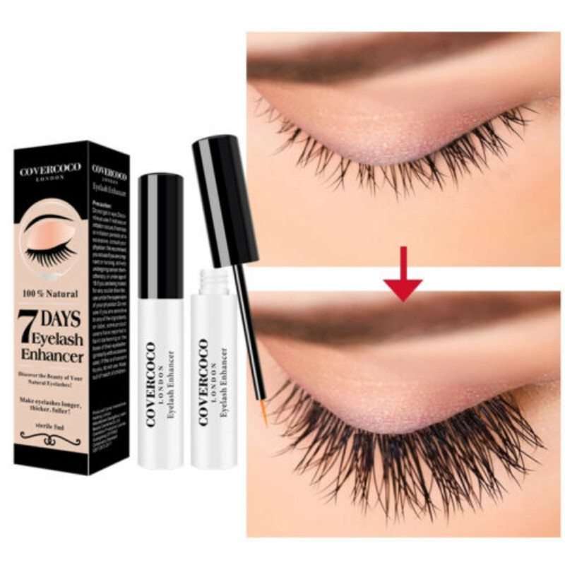 5ml Eyelash Enhancer Lash Eyebrow Hair Line Fast Oil Growth Essence Natural Herbal Eyelash Growth Liquid