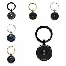 Хит продаж популярный брелок для ключей с зеркальным объективом