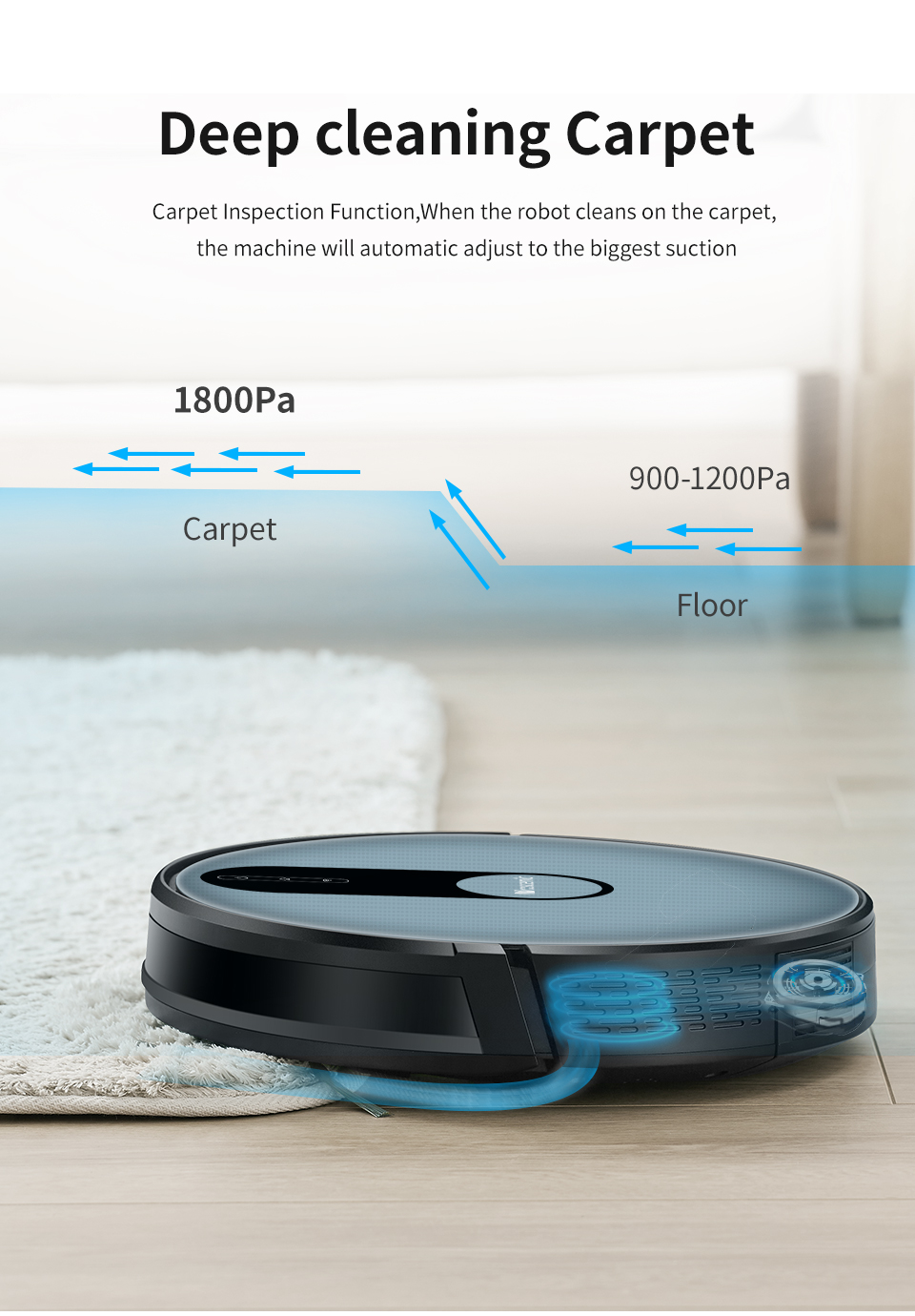 H1780ef81cf504233ac4ef20e1a62ebebw Proscenic 820P Robot Vacuum Cleaner Smart Planned 1800Pa Suction with wet cleaning for Home Carpet Cleaner Washing Smart Robot