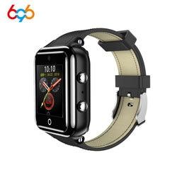 696 M5 1 + 16GB wodoodporny inteligentny zegarek 4G sieć Bluetooth 1.54 cal Smartwatch wsparcie SIM tętno tracker do monitorowania aktywności fizycznej na