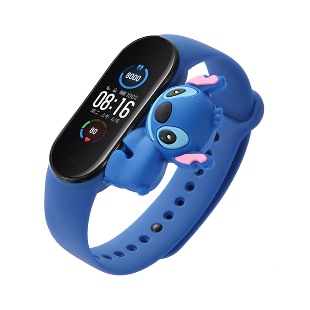 Cartoon Strap For Xiaomi Mi Band 5 6 for Smart Watch Wrist M3 M4 Bracelet For Xiaomi MiBand 5 6 for Mi band 4 Strap Replacement 3