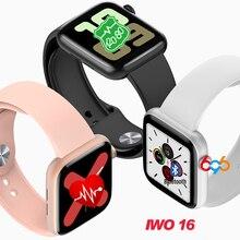 2020 New iwo 16 smart watch 1:1 44MM Watch 5 W75M W75 suppor