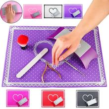 Silicone Nail Art Tool Pillow Hand Holder Table Mat Box Packed Salon Practice Washable