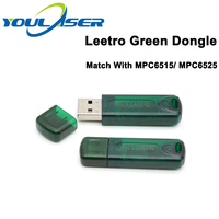 Leetro Green USB Dongle USB Key Laser Cut 5.3 Dongle for Co2 Laser Engraving Control System Leetro Controller MPC6515 MPC6525|CNC Controller| |  -