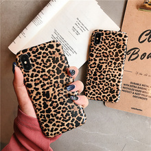 Luxury Leopard Phone Case For iPhone X XR XS Max Ultra thin Soft Silicone Cover 7 8 6 6S Plus Shockproof