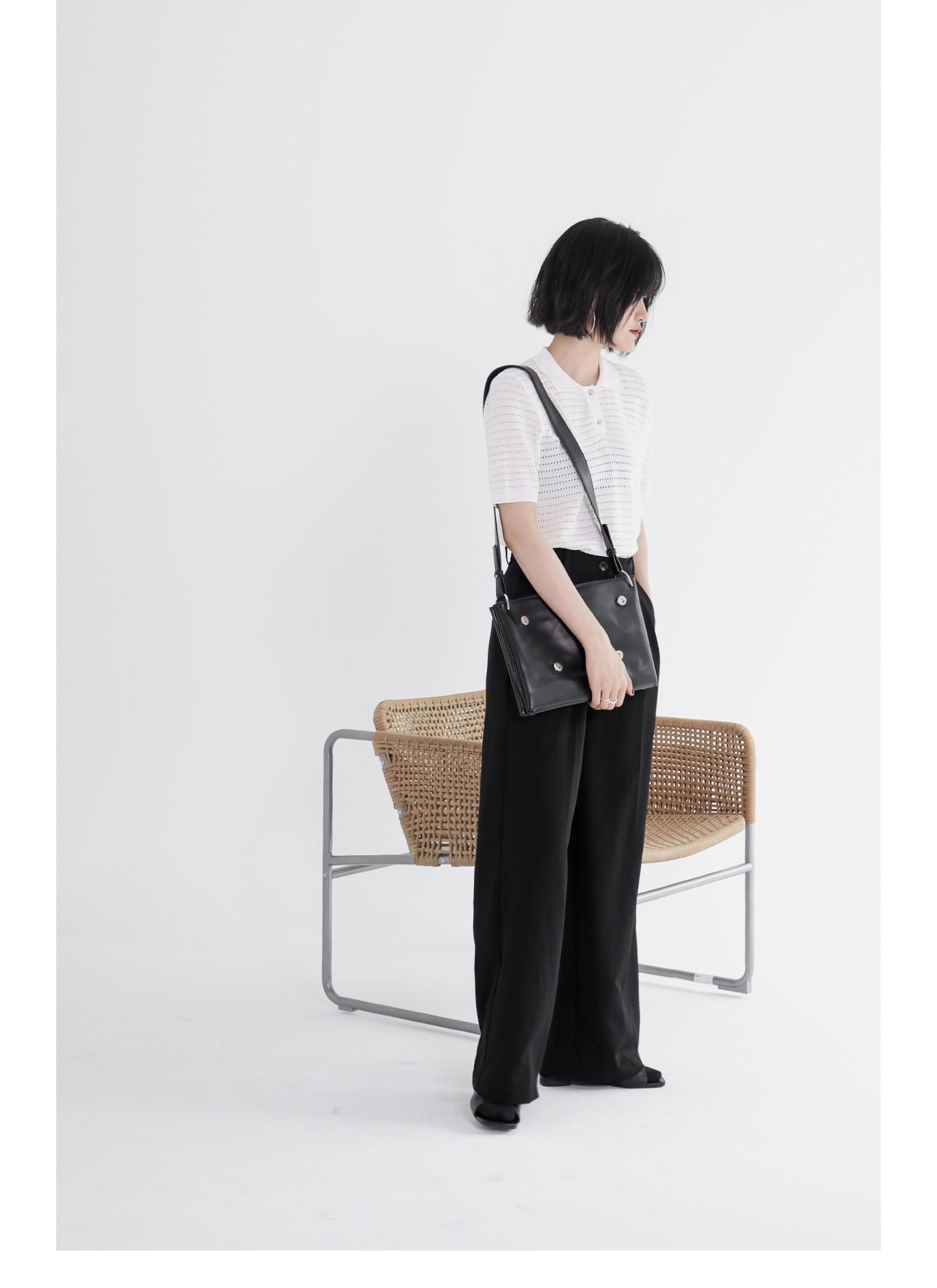 couro personalidade saco órgão quadrado bolsa de ombro crossbody saco