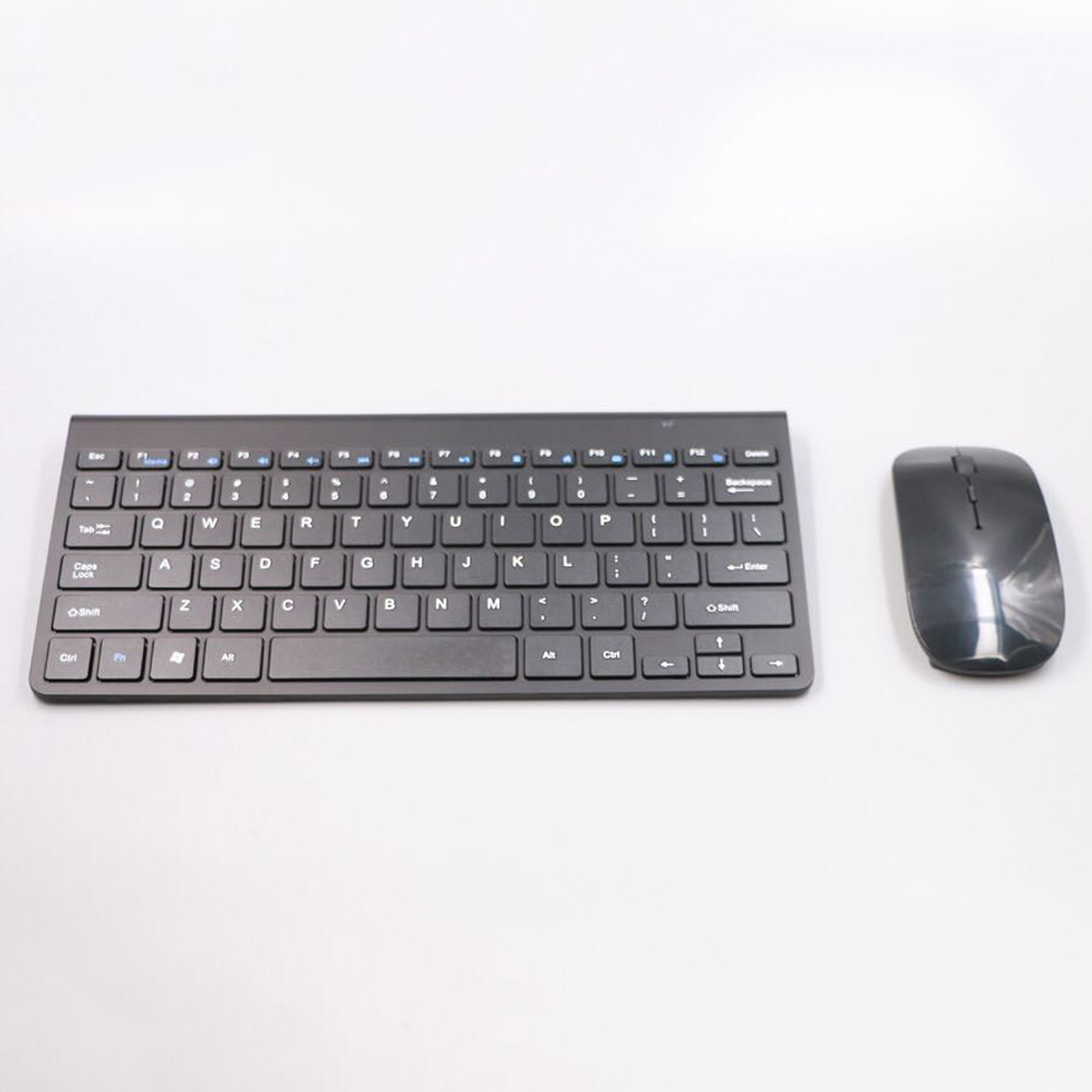 Ultra-Thin Wireless Keyboard And Mouse Set Mini Stylish Mute Suit Ergonomic Design Support Backlight Scissors Structure Button