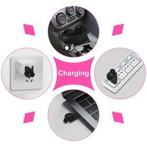Image 3 - GOOJIDOQ 5,0 auriculares, inalámbricos por carga USB Bluetooth con, Mini auriculares deportivos para coche con micrófono para iPhone y xiaomi