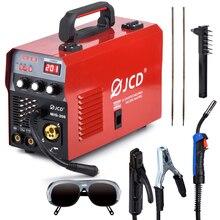JCD DC Inverter MIG Welder 220V IGBT MMA Welding Machine 160/200 Amp Arc welder machine for Home Beginner Lightweight Efficient