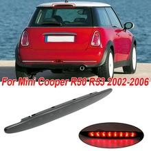 купить Car Smoked Lens LED Rear Brake Light Lamp For Mini Cooper R50 R53 S Hatchback 2002-2006 Car brake Light по цене 1494.76 рублей