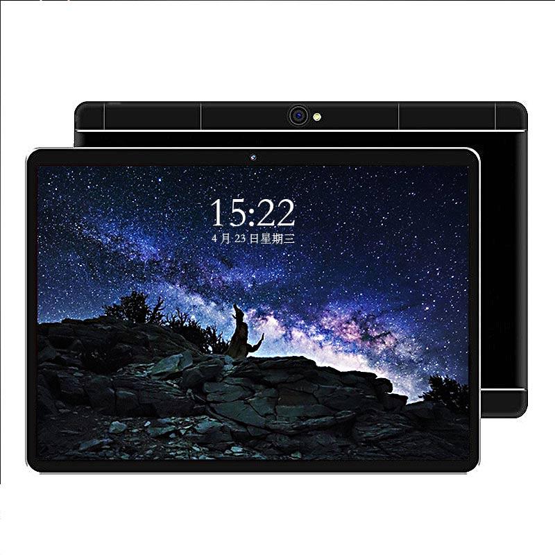 2019 nouveau chaud 10 pouces tablette PC 3G 4G LTE Octa Core 4GB RAM 64GB ROM double SIM cartes Android 8.1 mtk6797 GPS s109 tablette PC 10.1