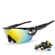 2019 Photochromic Cycling Glasses Men MTB Bike Bicycle Cycling Eyewear TR90 Outdoor Sports