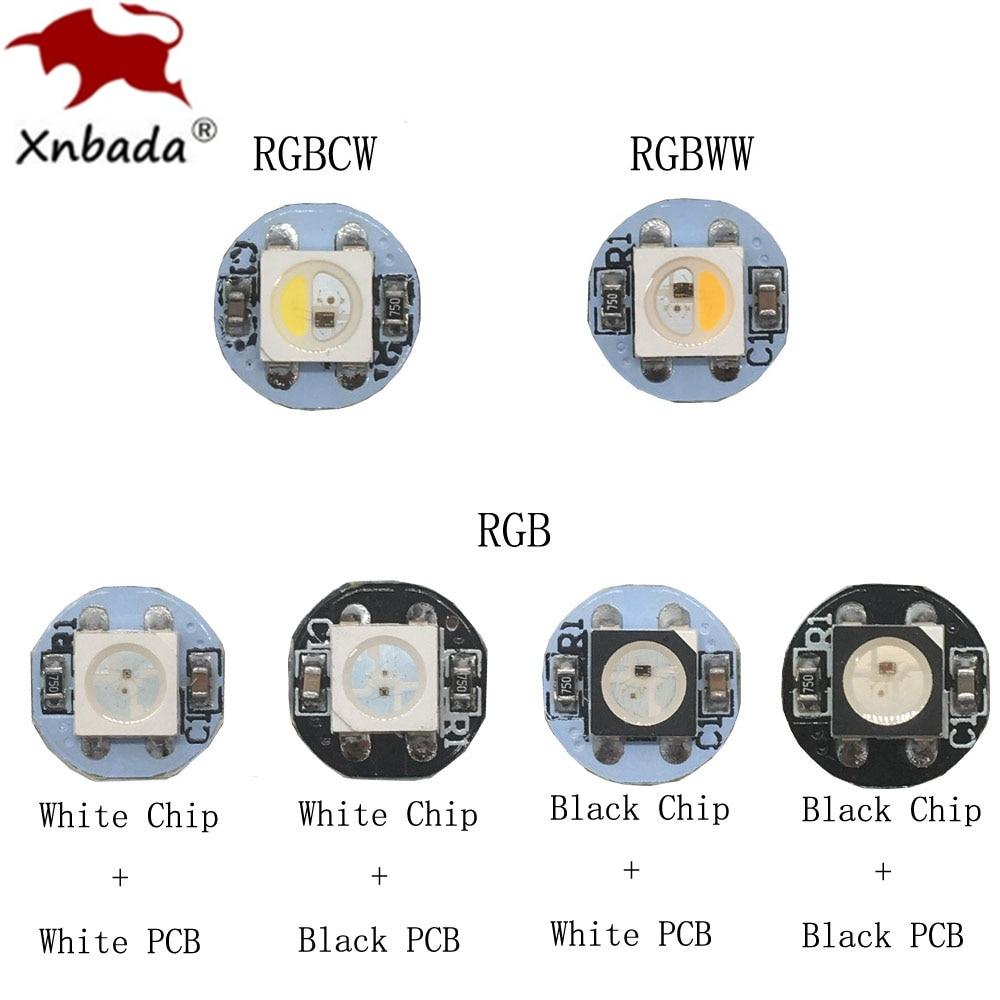 10 ~ 500 pièces 4 Broches WS2812B WS2812 PUCE LED Et dissipateur thermique Conseil 5050 rvb WS2811 IC SK6812 INTÉGRÉ RGBW PUCE LED DC5V