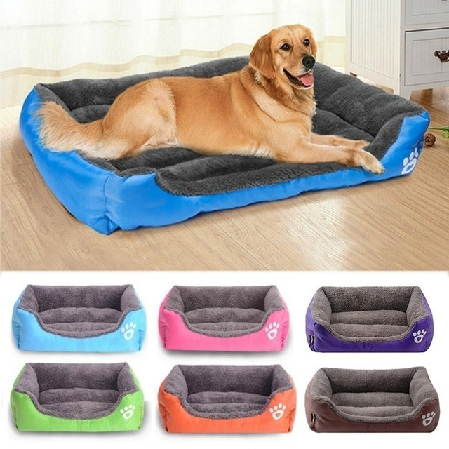 Colorful Warm Pet Bed