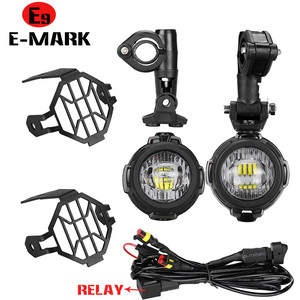 Image 4 - Faduies motocycle luzes de nevoeiro para bmw motocicleta led auxiliar nevoeiro luz condução da lâmpada para bmw r1200gs/adv k1600 r1200gs f800gs