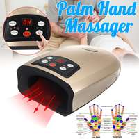 Electric Heated Hand Massager Physiotherapy Equipment Pressotherapy Palm Massage Device Air Compression Finger Massager Apparatu